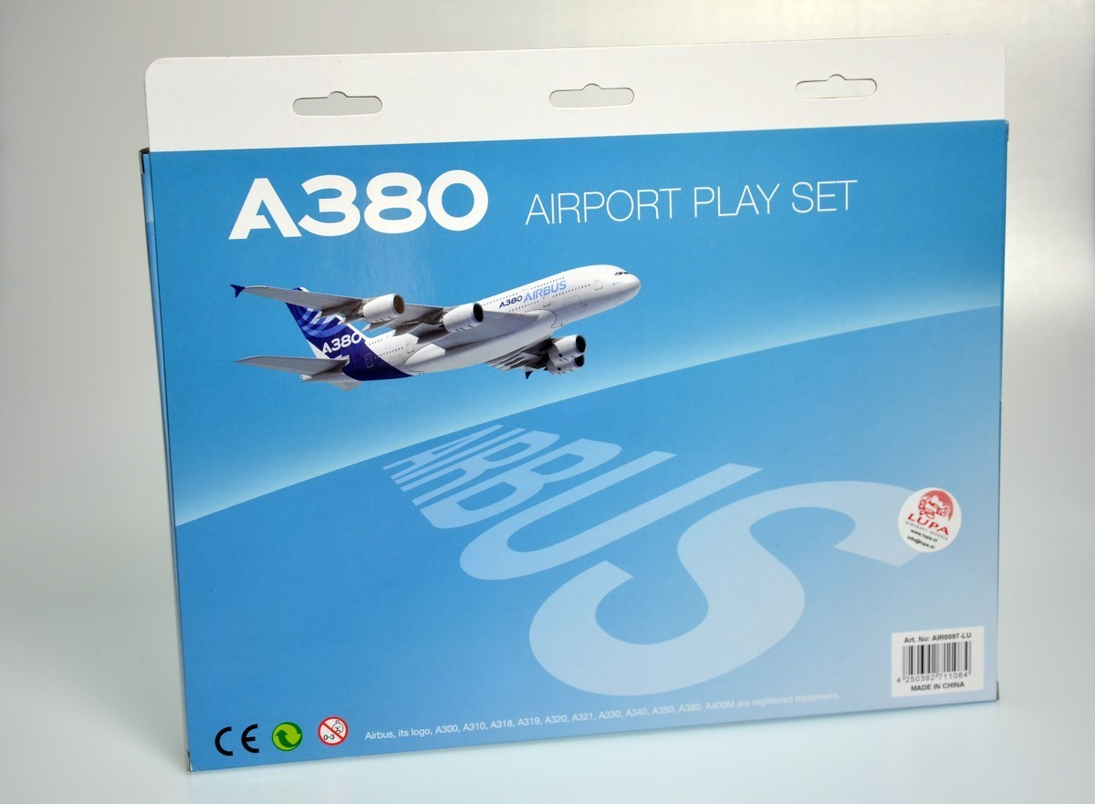 A380 airportset 11 pcs