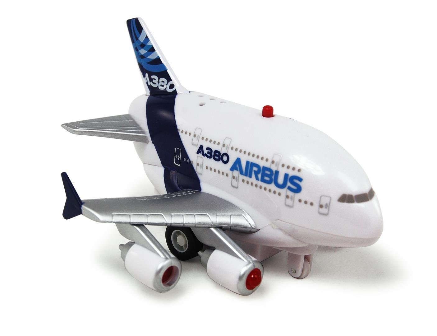 A380 Pull Back Plane